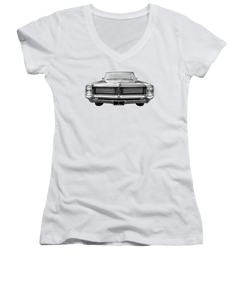 Pontiac Parisienne 1964 Women's V-Neck