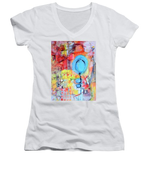 Pools Of Calm Women's V-Neck T-Shirt