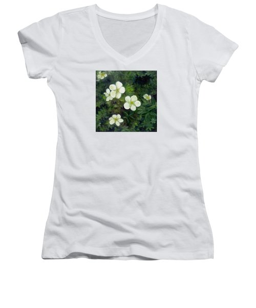 Potentilla Women's V-Neck
