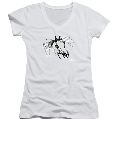 Pretty Filly's Ears Women's V-Neck T-Shirt