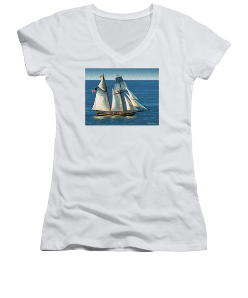 Pride Of Baltimore Women's V-Neck