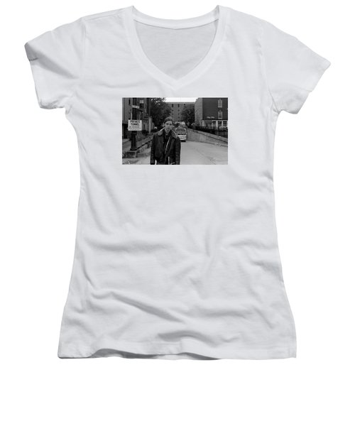 Private Tunnel, 1972 Women's V-Neck
