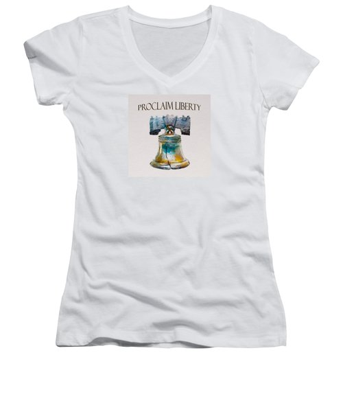Proclaim Liberty Women's V-Neck