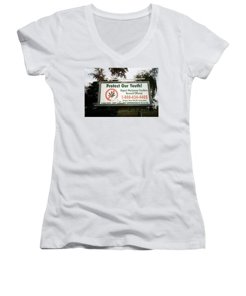 Protect Our Youth Women's V-Neck