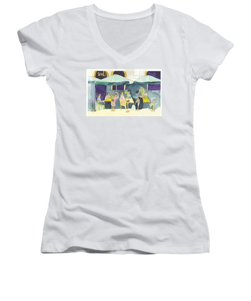 Pub In Harry Hjornes Plats Women's V-Neck T-Shirt