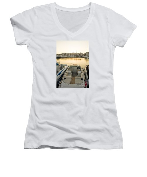 Puerto Banus Women's V-Neck T-Shirt