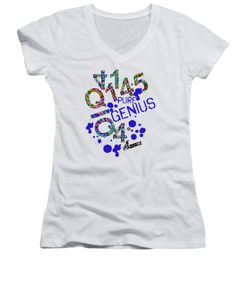 Pure Genius Women's V-Neck