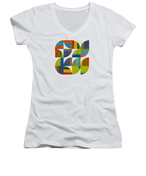Quarter Rounds 4.0 Women's V-Neck (Athletic Fit)