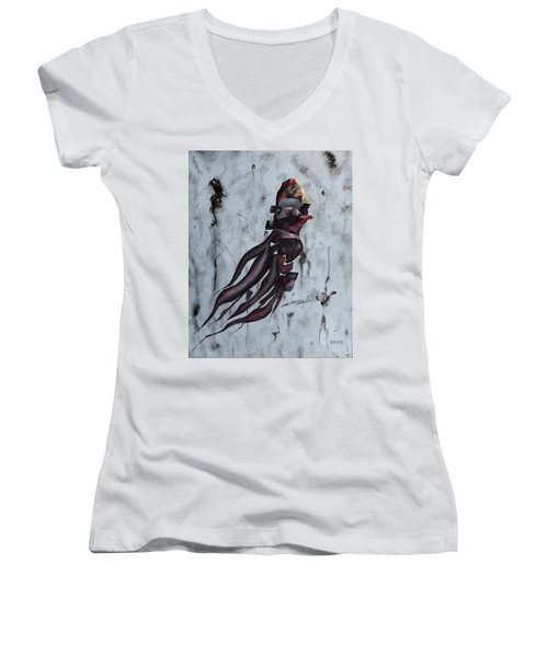 Quiet Desperation Women's V-Neck T-Shirt