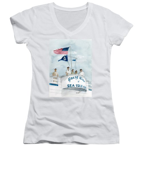 Race Committee  Women's V-Neck (Athletic Fit)