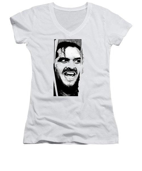 Rage Women's V-Neck T-Shirt