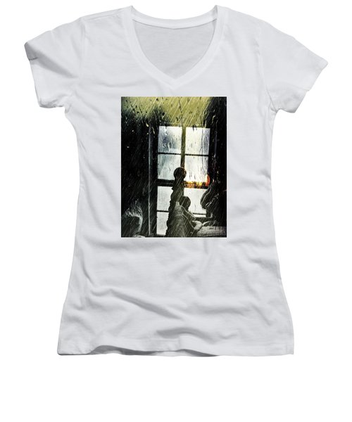 Rain In My Heart Women's V-Neck
