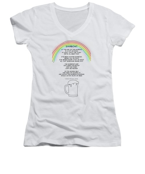 Rainbows Women's V-Neck