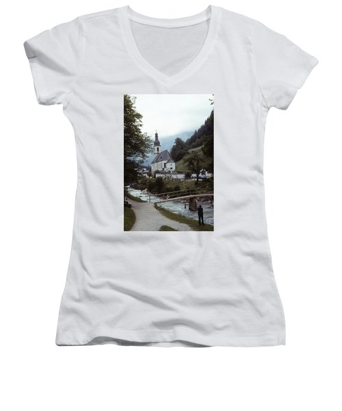 Ramsau Church Women's V-Neck
