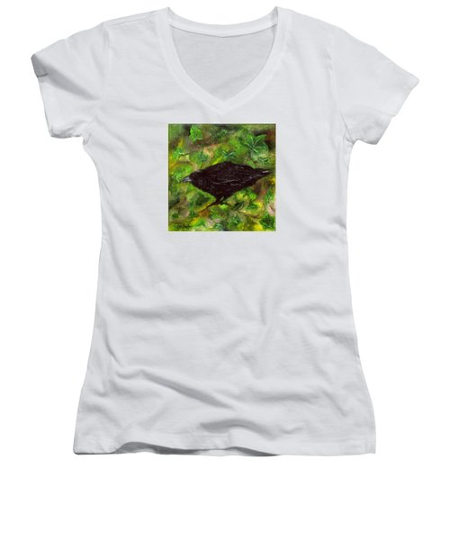 Raven In Ivy Women's V-Neck