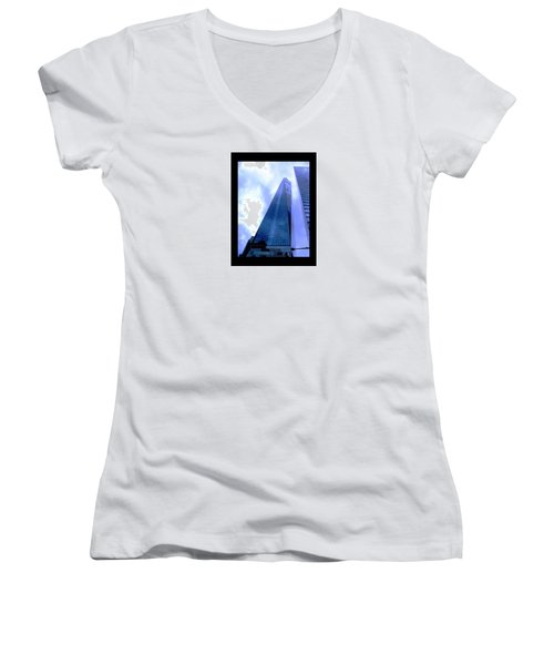 Reach For The Sky. Women's V-Neck T-Shirt