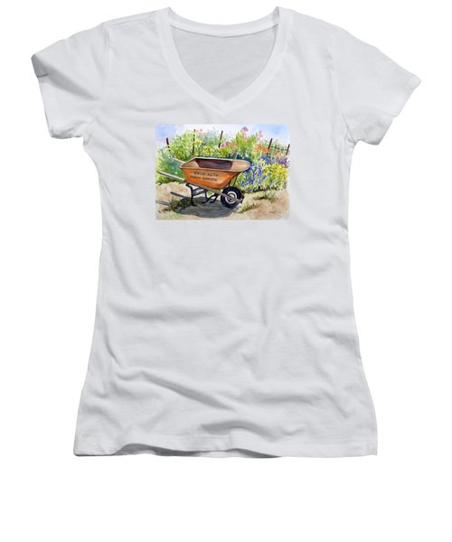 Ready At The Main Garden Women's V-Neck (Athletic Fit)