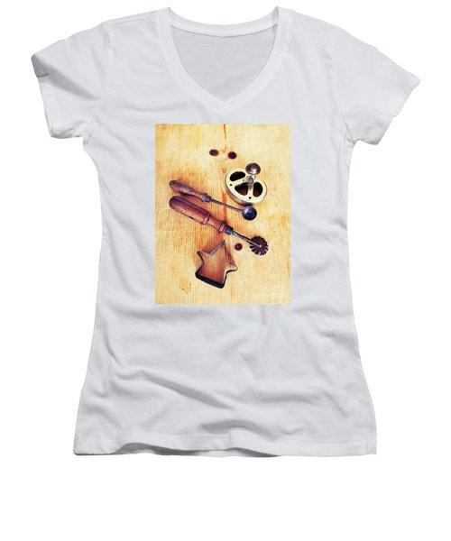 Ready For Baking Women's V-Neck T-Shirt