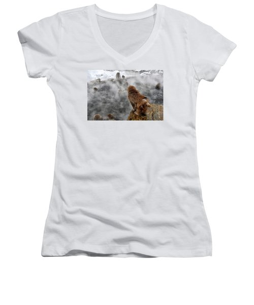 Ready For The Plunge Women's V-Neck