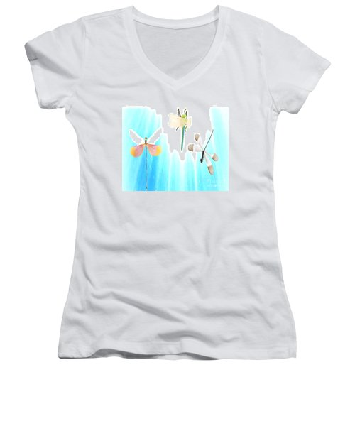 Realization Of Life Women's V-Neck T-Shirt (Junior Cut)