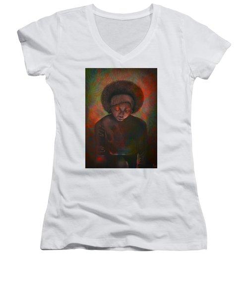Reciprocity 3 Women's V-Neck T-Shirt