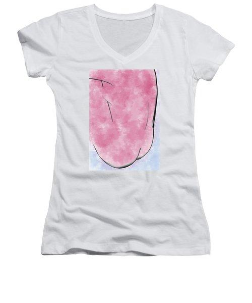 Red Pepper Women's V-Neck T-Shirt