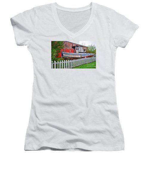 Redneck Dry Dock Women's V-Neck