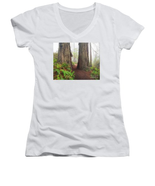Redwood Trail Women's V-Neck (Athletic Fit)