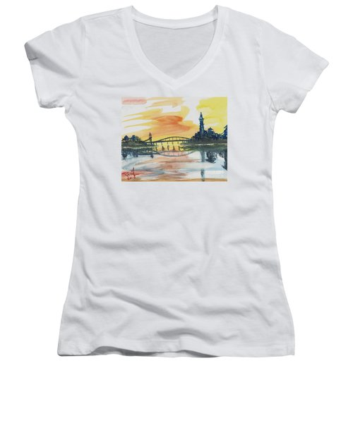 Reflecting Bridge Women's V-Neck