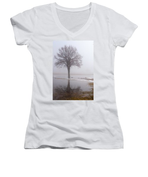Reflecting Tree Women's V-Neck