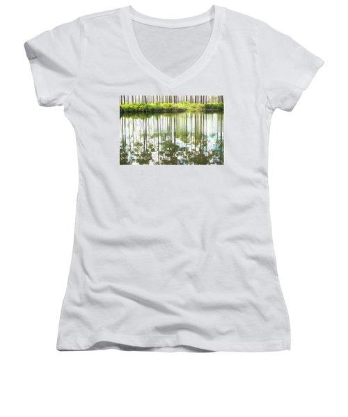 Reflex Lake Women's V-Neck