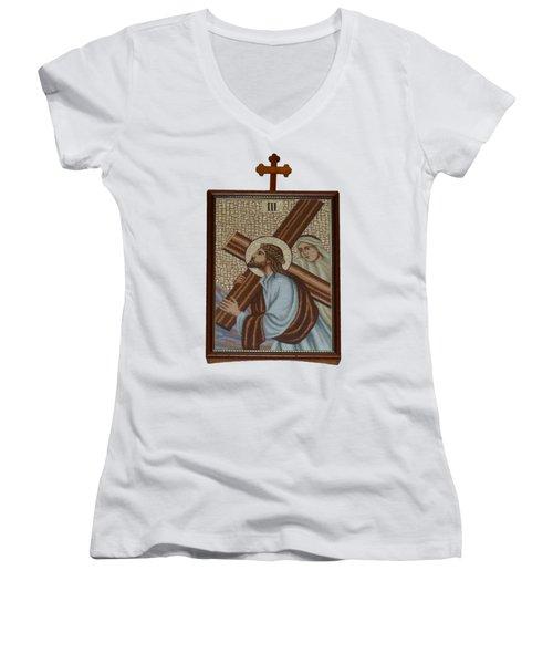 Religion  3 Women's V-Neck