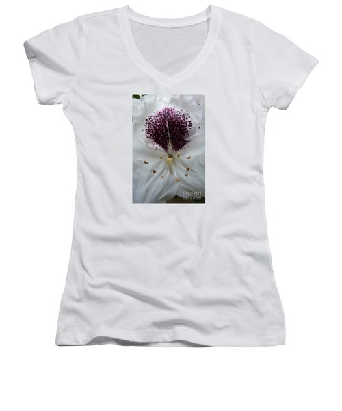 Rhododendron 2 Women's V-Neck