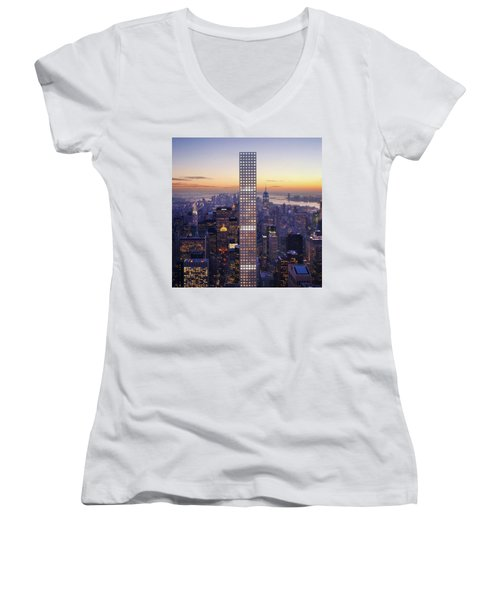 Right Here Right Now Women's V-Neck T-Shirt