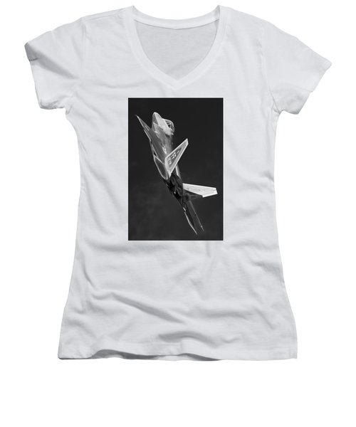 Rise Of The Silver Surfer Women's V-Neck