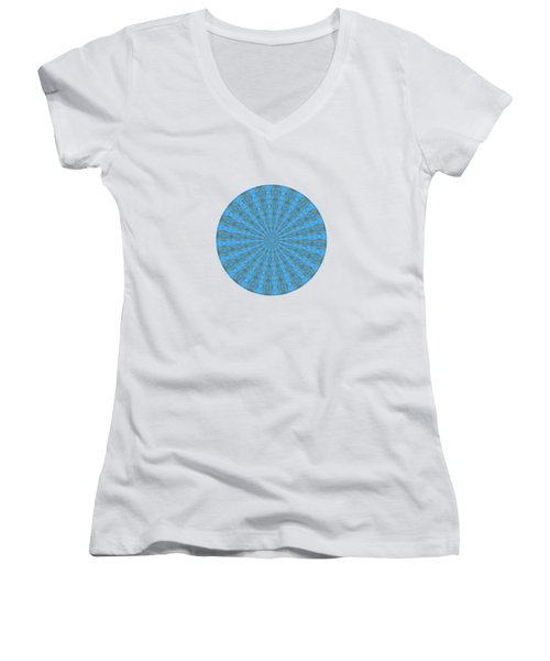 River Blue Women's V-Neck T-Shirt