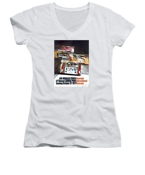 Riverside Can-am Women's V-Neck T-Shirt