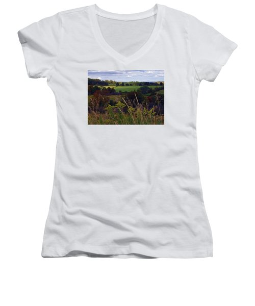 Roadside Wanderings Women's V-Neck T-Shirt