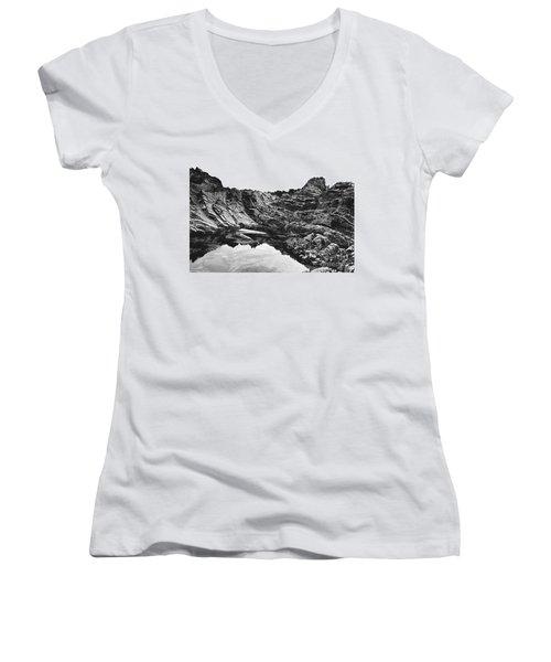 Rock Women's V-Neck T-Shirt