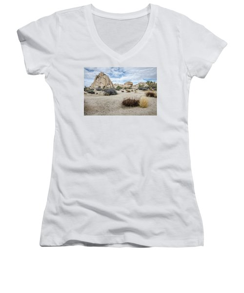 Rock Tower No.2 Women's V-Neck
