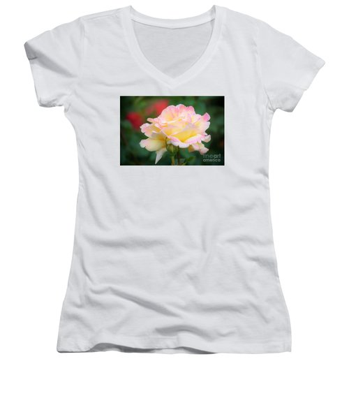 Rose Beauty Women's V-Neck (Athletic Fit)