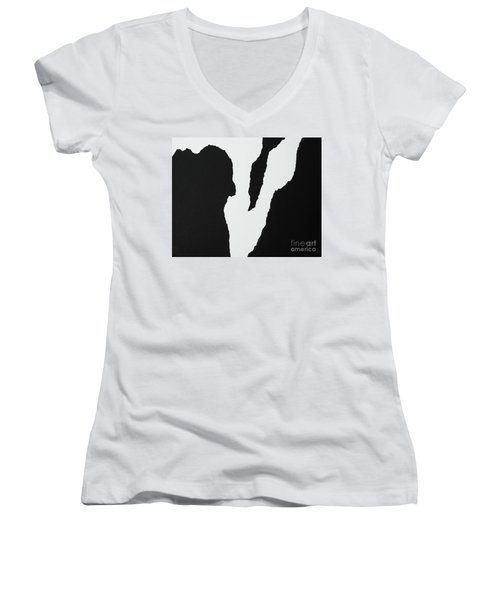 Rough V Women's V-Neck