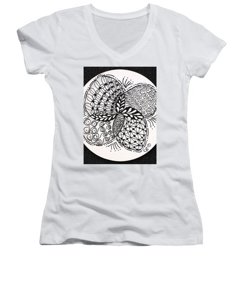 Round And Round Women's V-Neck