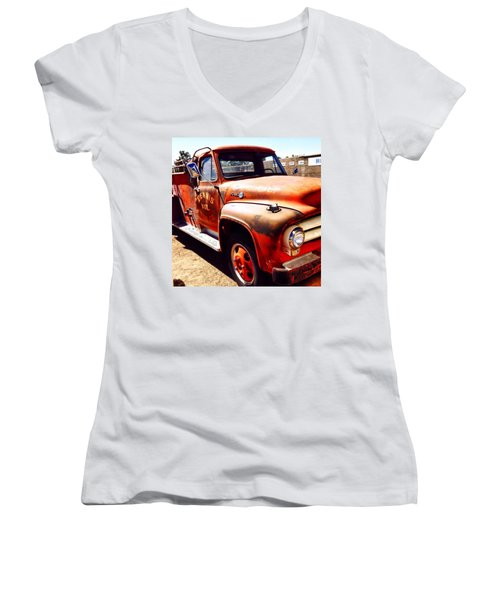 Route 66 Women's V-Neck T-Shirt