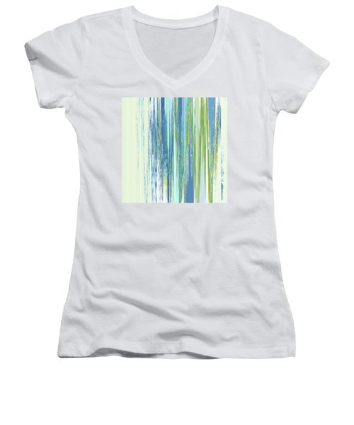 Rainy Street Women's V-Neck