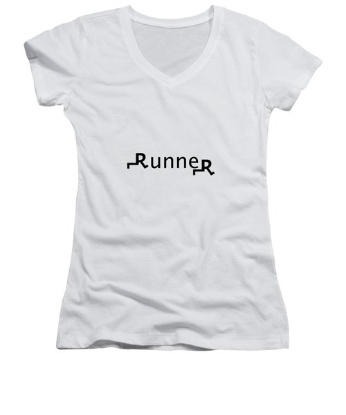 Runner Women's V-Neck (Athletic Fit)