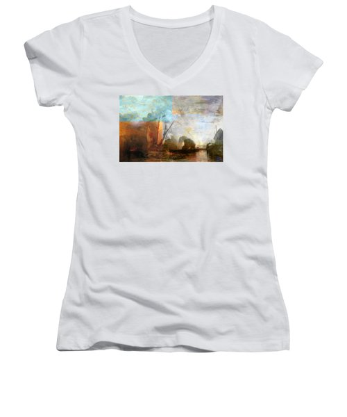 Rustic I Turner Women's V-Neck T-Shirt
