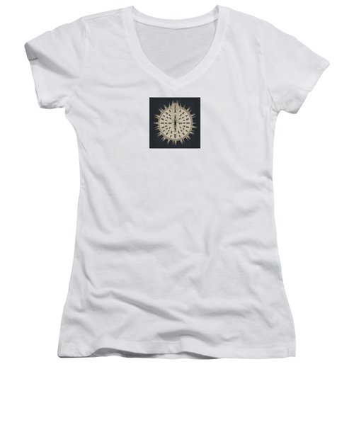 Sacred Planet - Duomo - Milano- Italy Women's V-Neck (Athletic Fit)
