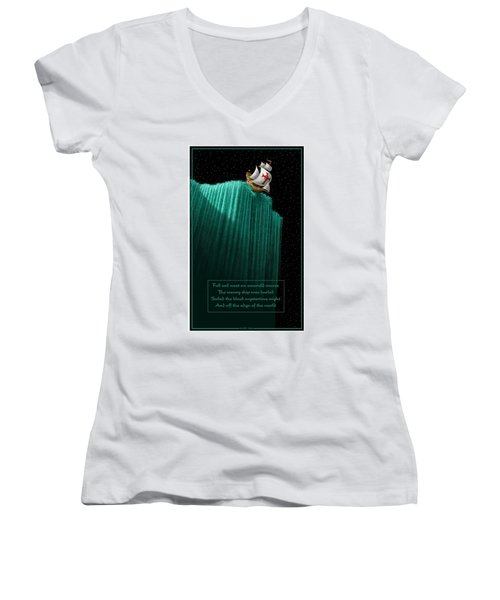 Sailing Off The Edge Of The World Women's V-Neck