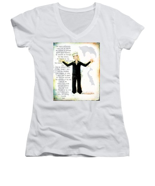 Sailor's Prayer Women's V-Neck